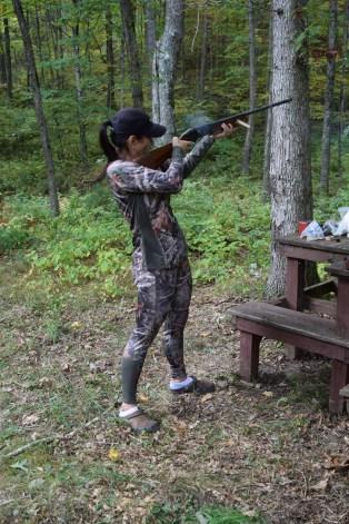 Teaching Mary How to Shoot